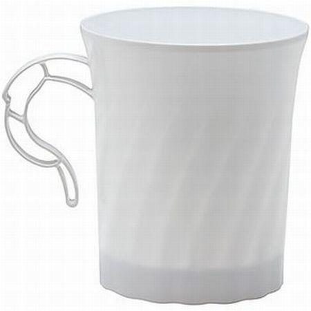 Clicware White 8 Oz Coffee Cups