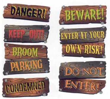 Halloween Phrases: Halloween Decorations