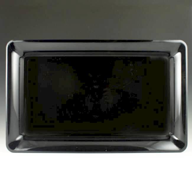 black plastic rectangular serving tray 18 x 12 rigid plastic rectangular serving trays. Black Bedroom Furniture Sets. Home Design Ideas
