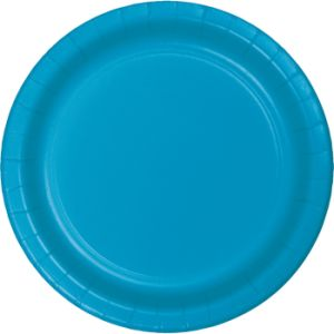 Turquoise Paper And Plastic Dinnerware Turquoise Paper