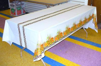 Safari Chic Banquet Table Cover Jungle