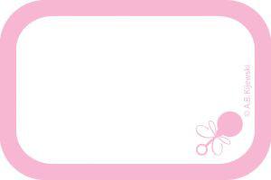 Good Baby Love Girl Name Tags