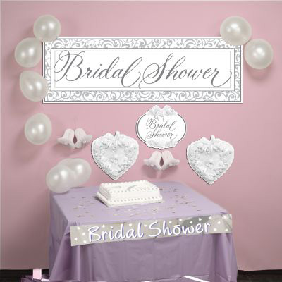 bridal shower decorating kit