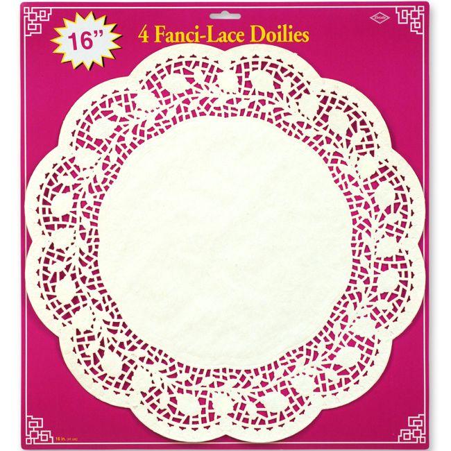 Fanci-Lace 16-inch Doilies  sc 1 st  Party at Lewis & Fanci-Lace 16-inch Doilies: Party at Lewis Elegant Party Supplies ...
