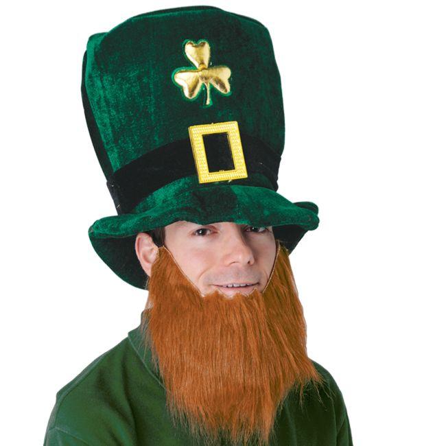 Plush Leprechaun Hat w/ Beard