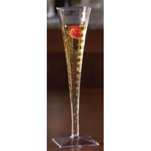 emi yoshi squares 1 piece plastic champagne glasses 5 oz
