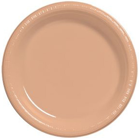 Premium 9-inch Plastic Plates Peach  sc 1 st  Party at Lewis & Premium 9-inch Plastic Plates Peach: Closeouts for all Occasions