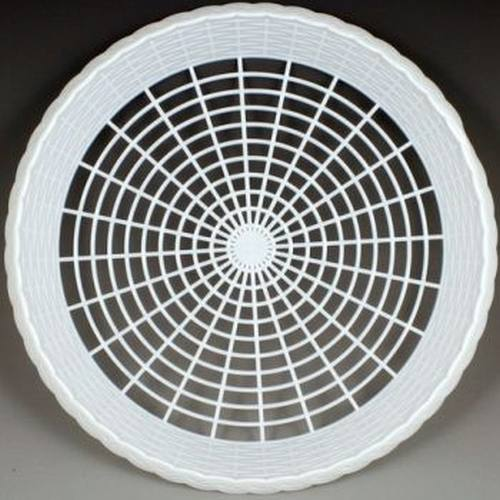 Plastic Paper Plate Holders White