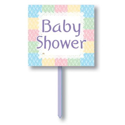 nursery baby shower yard sign baby shower yard signs banners