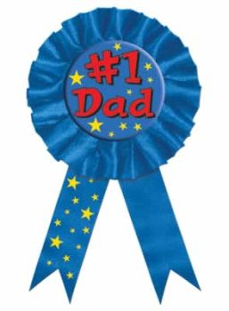 1 Dad Award Ribbon Mothers Fathers Day