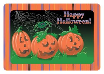 Halloween Placemats Printed Paper Placemats