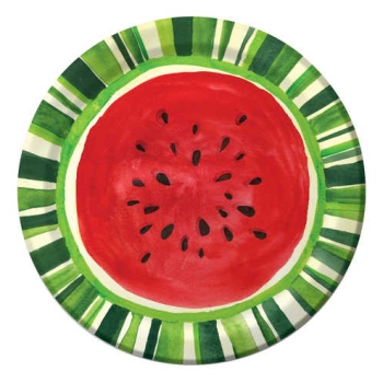 Watermelon Treat 9-inch Plates