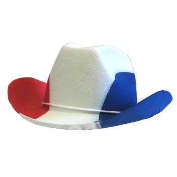 Red White Blue Cowboy Hat Western