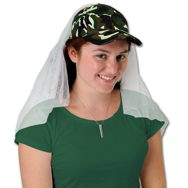 Elegant Camo Wedding Ideas: Camouflage Wedding Veil Cap: Party At Lewis Elegant Party