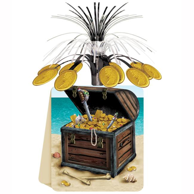 Pirate Treasure Chest Centerpiece Party At Lewis Elegant Party