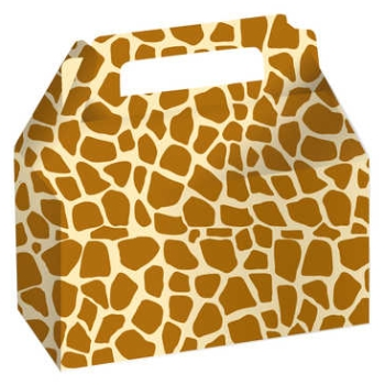 Animal Print Giraffe Cookie/Candy Boxes: Party at Lewis Elegant ...