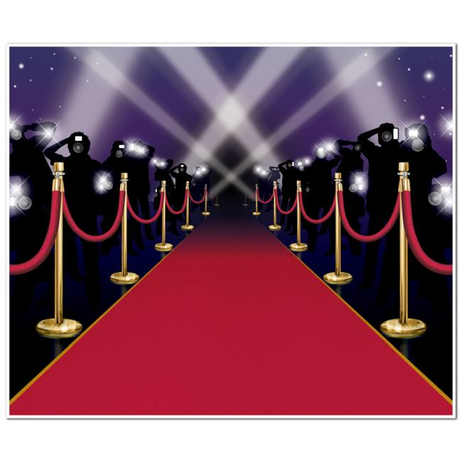 red carpet insta wall mural  party at lewis elegant party