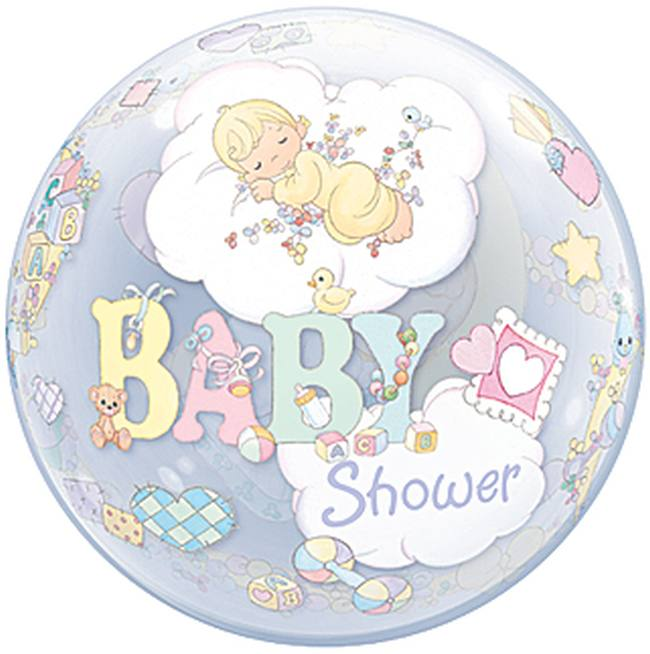 precious moments baby shower bubble balloon baby shower