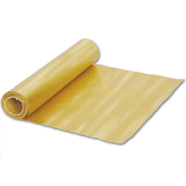 Plastic disposable runners  and roll Paper Roll: Gold 50 table Table foot Gold Lame' Runner