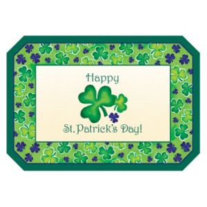 Seasonal Occasions Placemats St Patrick S Day