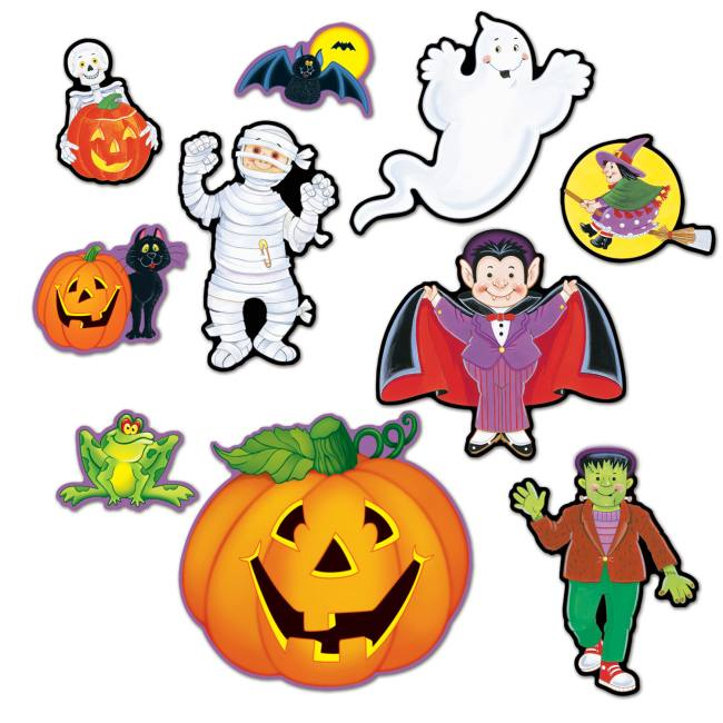 Halloween Cutouts #3: Halloween Decorations