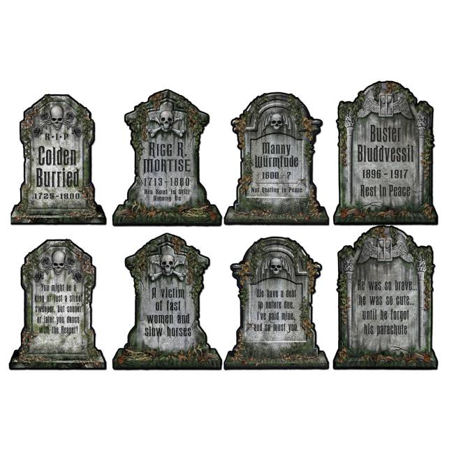 Tombstone Cutouts