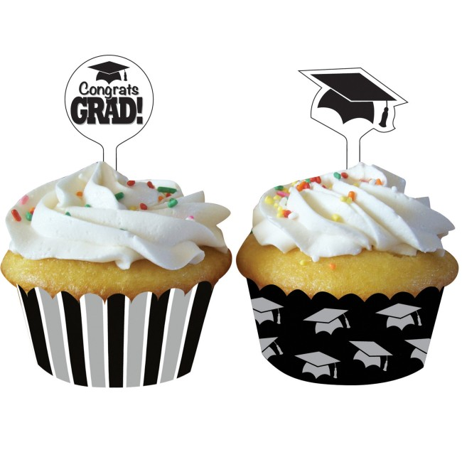 Graduation Cupcake Wrappers Wpicks