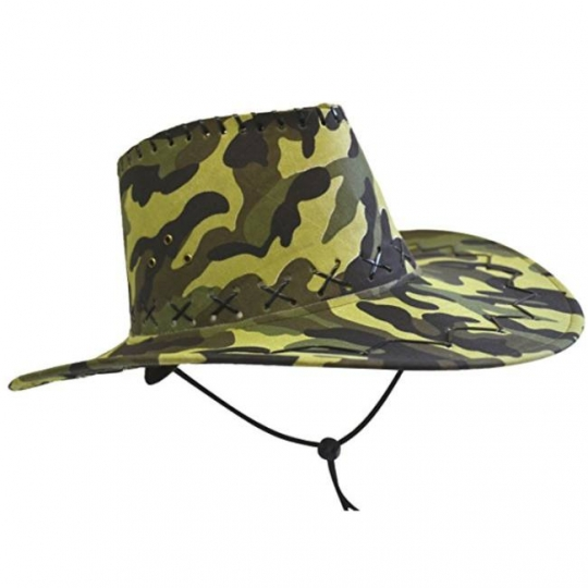 36132a771a52a Camouflage Cowboy Hat  Party at Lewis Elegant Party Supplies ...