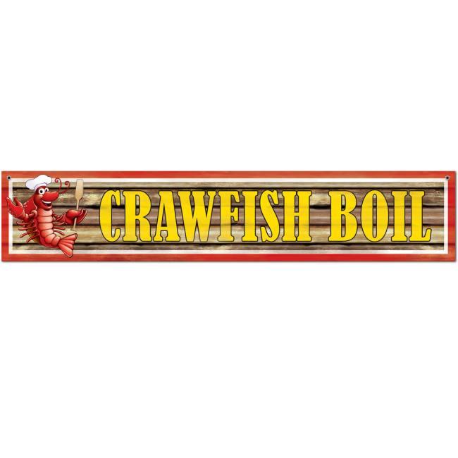 Crawfish Boil Banner Crawfish