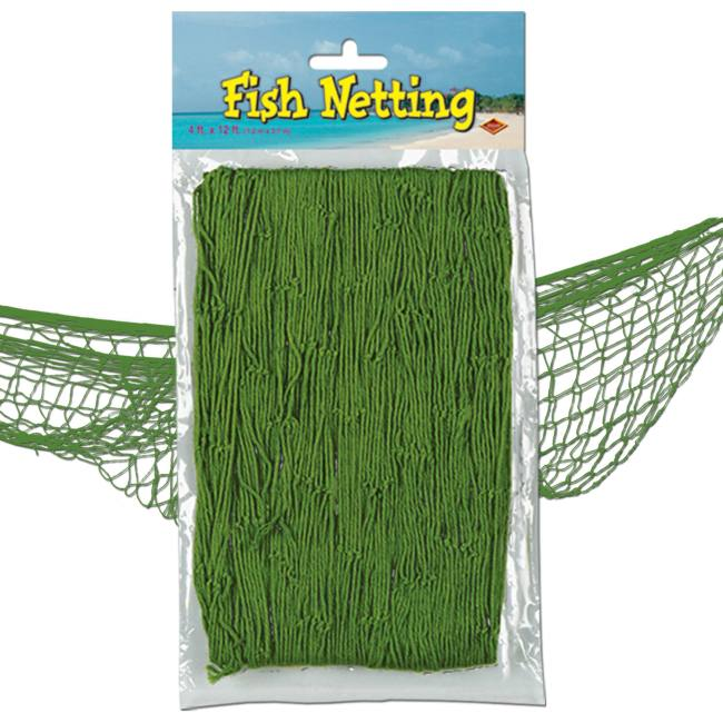 Fish Netting Green  sc 1 st  Party at Lewis & Fish Netting Green: Party at Lewis Elegant Party Supplies Plastic ...