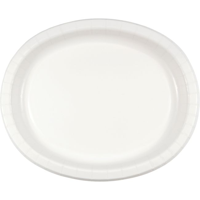 White Sturdy Style 12-inch Oval Paper Plates  sc 1 st  Party at Lewis & White Sturdy Style 12-inch Oval Paper Plates: Party at Lewis Elegant ...
