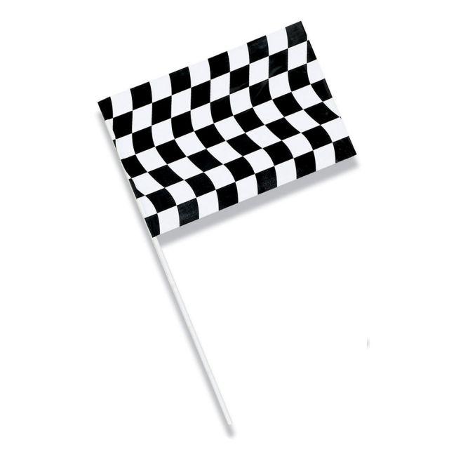 Black \u0026 White Checkered Jumbo Plastic Flag  sc 1 st  Party at Lewis & Black \u0026 White Checkered Jumbo Plastic Flag: Party at Lewis Elegant ...