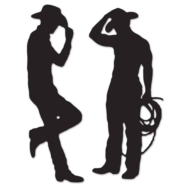 Cowboy Silhouettes Party At Lewis Elegant Party Supplies