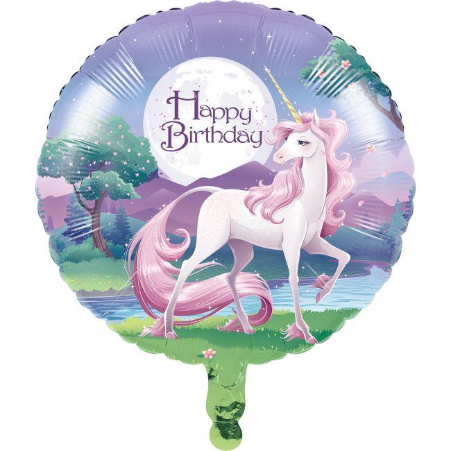 UNICORN FOIL BALLOON FANTASY HORSE GIRLS BIRTHDAY PARTY