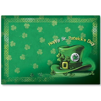 seasonal occasions placemats st patrick 39 s day st patricks day