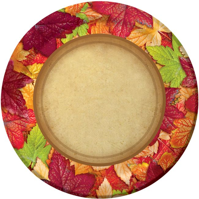 Forest Floor 9-inch Plates: Party At Lewis Elegant Party