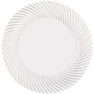 simcha my style plastic dinner plates 10inch