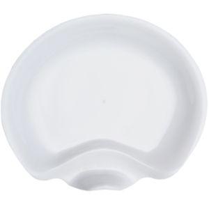gala 6inch cocktail desert plates white