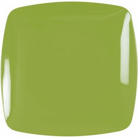 Renaissance Rounded Green Square Plastic Plates 7.5-inch & Renaissance Rounded Green Square Plastic Plates 7.5-inch: Party at ...