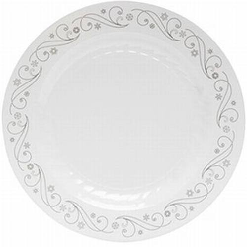 Masterpiece 10.25-inch Holiday Snowflakes Plastic Plates  sc 1 st  Party at Lewis & Masterpiece 10.25-inch Holiday Snowflakes Plastic Plates: Party at ...