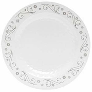 masterpiece 725inch holiday snowflakes plastic plates