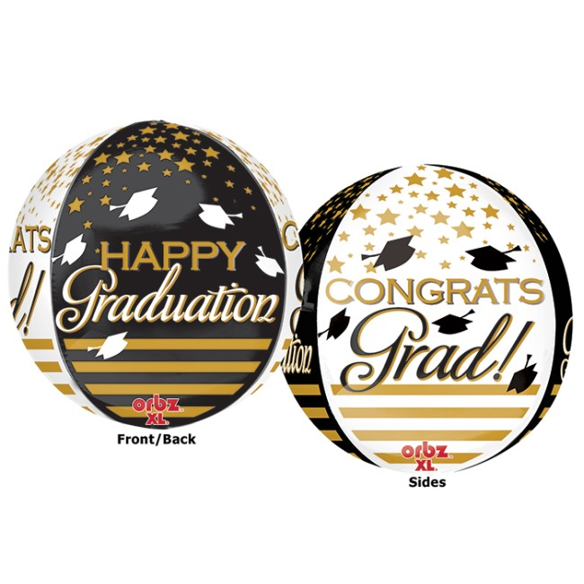 Graduation Orbz Graduation Ultra Shape 16-Inch Foil Balloon