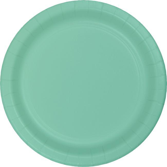 Fresh Mint Green Heavy Duty 7-inch Paper Plates  sc 1 st  Party at Lewis & Fresh Mint Green Heavy Duty 7-inch Paper Plates: Party at Lewis ...