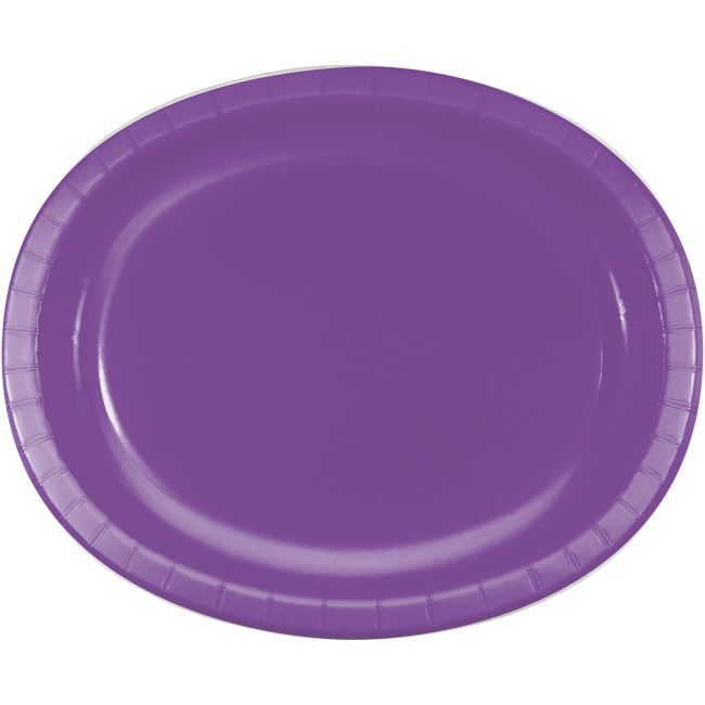 Amethyst Sturdy Style 12-inch Oval Paper Plates  sc 1 st  Party at Lewis & Amethyst Sturdy Style 12-inch Oval Paper Plates: Party at Lewis ...