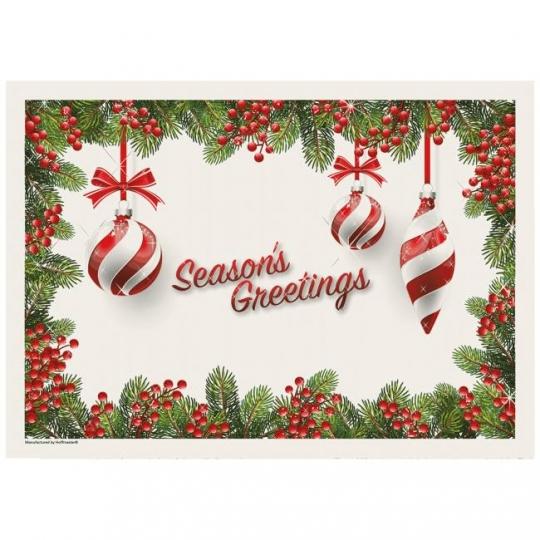 Holiday ornaments seasons greetings activity paper placemats party holiday ornaments seasons greetings activity paper placemats m4hsunfo