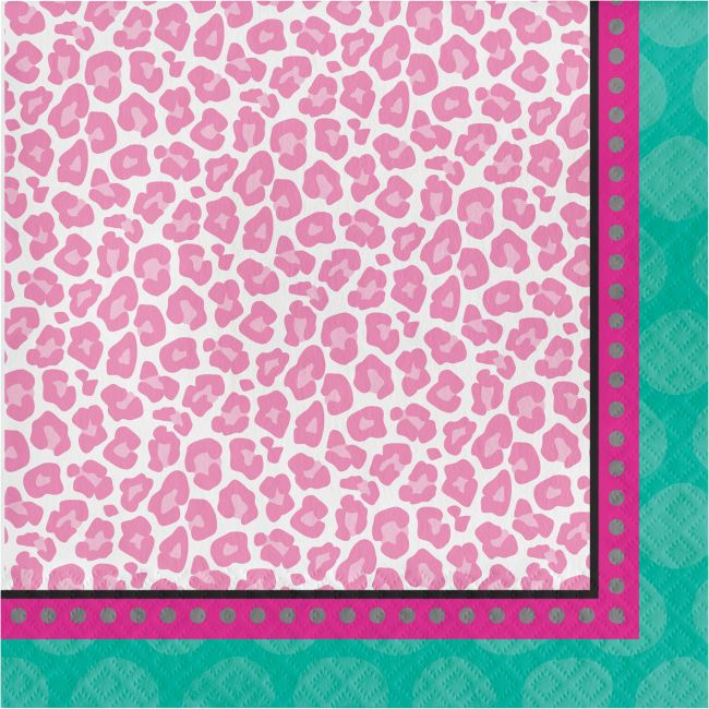 20719b5d494 Sparkle Spa Lunch Napkins  Party at Lewis Elegant Party Supplies ...