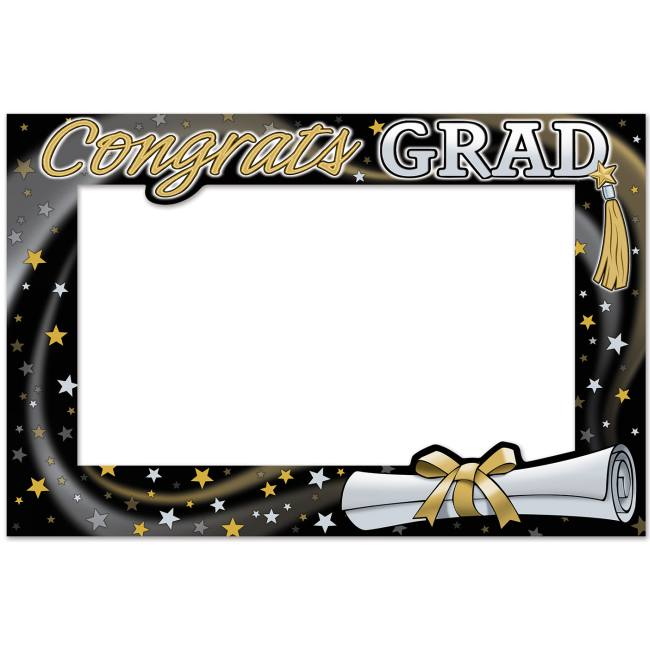 Graduation Photo Fun Frame Party At Lewis Elegant Party Supplies Plastic Dinnerware Paper Plates And Napkins