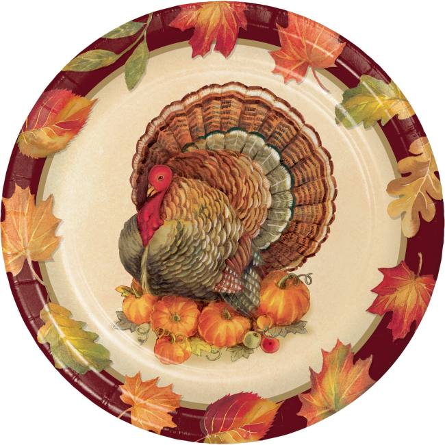 Turkey Traditions 7 Inch Plate Party At Lewis Elegant