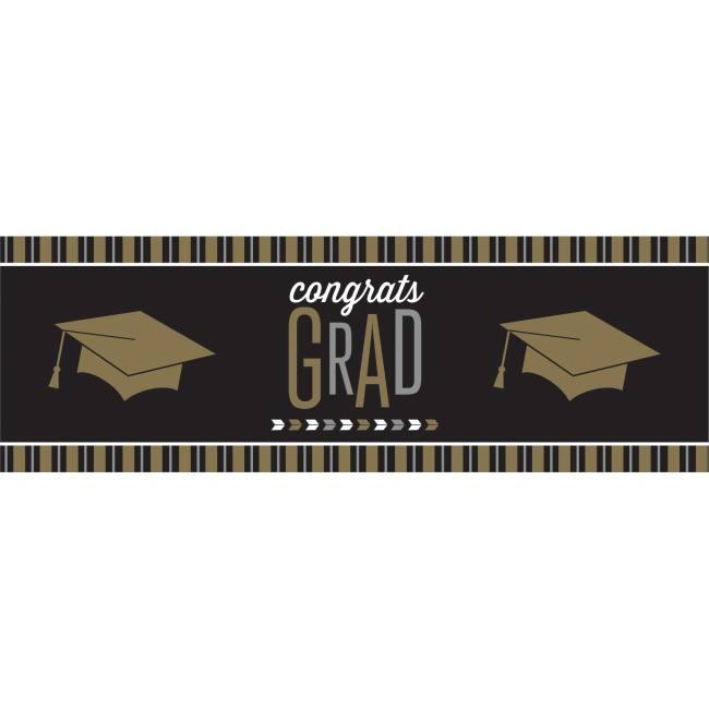 Glitzy Grad Giant Banner