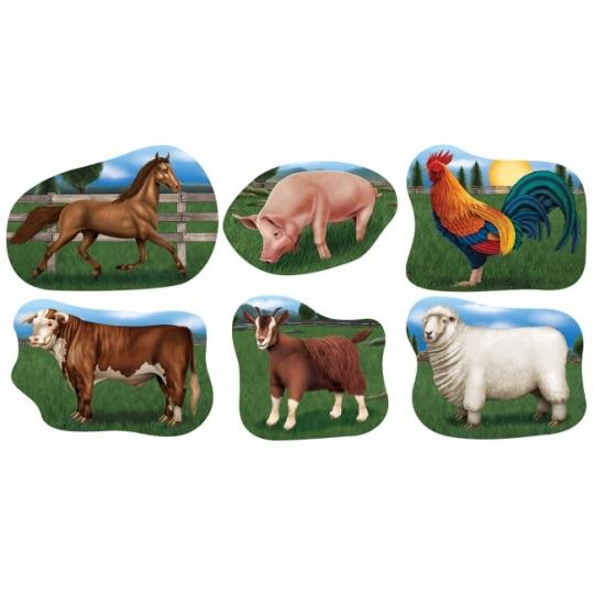 Farm Animal Cutouts #2  sc 1 st  Party at Lewis & Farm Animal Cutouts #2: Party at Lewis Elegant Party Supplies ...